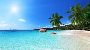 Summer in Seychelles